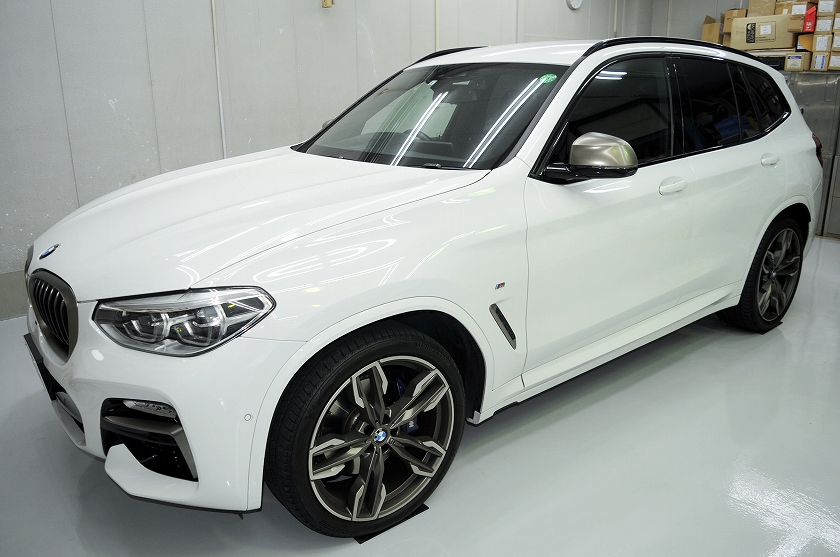 BMW X3 カーフィルム施工事例
