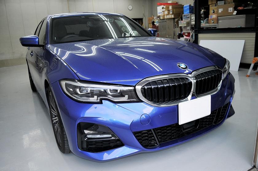 BMW  320i カーフィルム施工事例