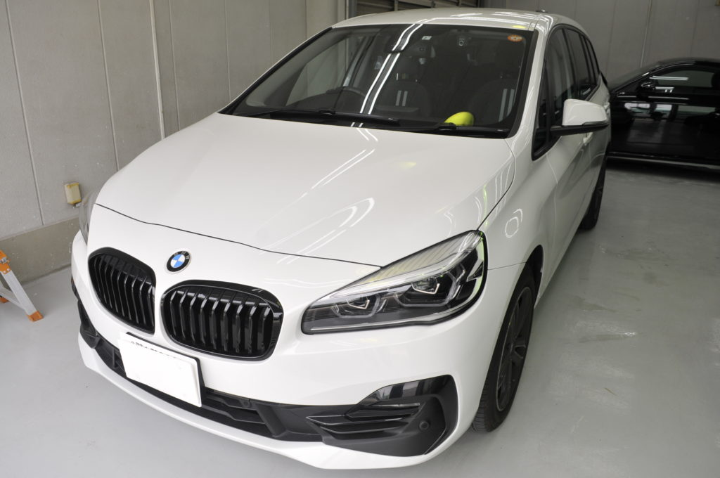 BMW 218d グランツアラー カーフィルム施工事例