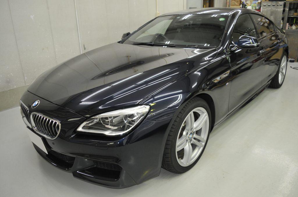 BMW 640i グランクーペ カーフィルム施工日誌