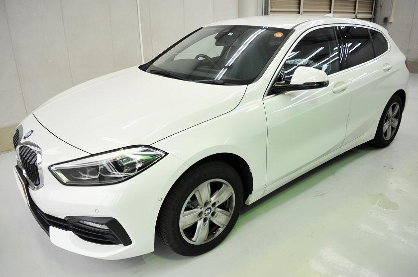 BMW  118d カーフィルム施工事例