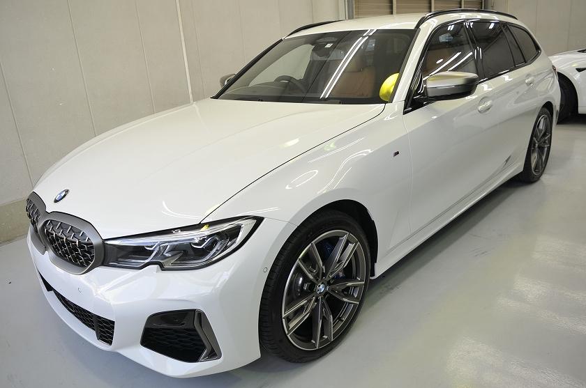 BMW  340i  ツーリング カーフィルム施工事例